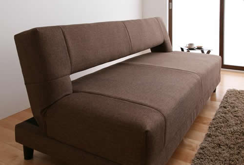 寝心地抜群コイルスプリングソファーベッド 使用イメージ